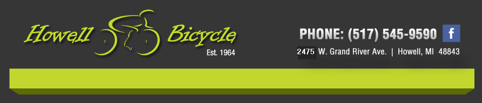 Howell Bicycle Cannondale logo banner